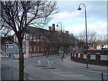 SJ8745 : Staffordshire University, Stoke by Steven Birks