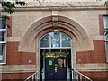 SJ9142 : Entrance to Sutherland Institute, Longton by Steven Birks