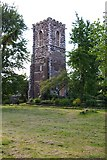 TQ3089 : Medieval tower, old Church of St Mary, Hornsey by Julian Osley