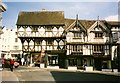 SO5174 : Historic buildings in Ludlow by Tom Pennington