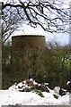SO6390 : Round Brick Building by Mr M Evison