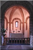 SO4430 : St Mary & St David, Kilpeck, Herefordshire - Chancel by John Salmon
