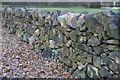 SK4713 : Dry stone wall at Charley Mill Farm by Kate Jewell