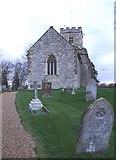 SP7330 : Adstock - Parish church of St. Cecilia by Rob Farrow
