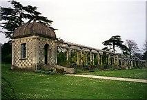 SU8612 : The pergola at West Dean Gardens by Tom Pennington