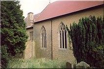 SO4970 : Detail of All Saints' Church , Richard's Castle (Shropshire) by Humphrey Bolton