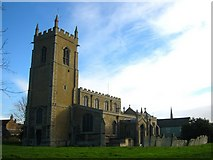 TL2696 : St Andrew's Church Whittlesey by Chris Stafford