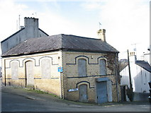 SH4862 : Disused general store on the corner of Llanberis Road and Allt Cadnant by Eric Jones