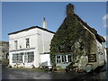 ST6601 : The Old Market House and The Royal Oak, Cerne Abbas by Peter Beaven