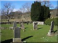 NN8439 : Cemetery in Glen Quaich by Lis Burke
