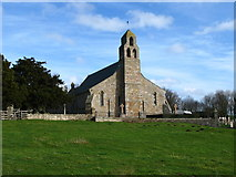NT9437 : Church of St Michael and all Angels, Ford by Lisa Jarvis