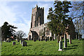 SS7707 : Morchard Bishop: St Mary's church by Martin Bodman
