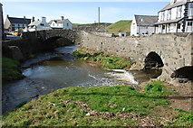 SH1726 : Afon Cyll y Felin & Afon Daron Aberdaron by Alan Fryer