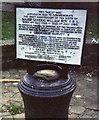 TQ1370 : General Roy monument, Hampton Hill. by Stephen Williams