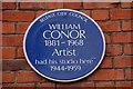 J3372 : William Conor plaque, Stranmillis Road, Belfast by Albert Bridge