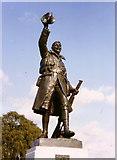TQ1672 : The war memorial, Radnor Gardens by Stephen Williams