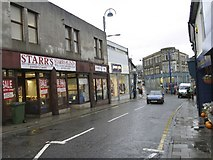 ST1599 : High Street / Upper High Street Junction, Bargoed by Kev Griffin