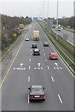 O1740 : M1 Motorway, Coolock Interchange, Dublin by Peter Gerken