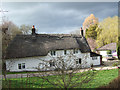 ST7500 : Cottage at Cheselbourne by Mike Searle