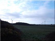 SW7021 : Wind Farm; early morning. by Jonathan Billinger