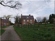 SJ3335 : Wigginton Hall Farm by John Haynes
