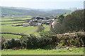 SS7927 : Molland: Sheepwash by Martin Bodman