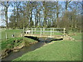 SP6381 : Bridging the County Boundary. by Richard Williams