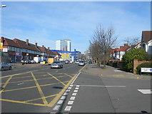 TQ1883 : Ealing Road, Alperton by Danny P Robinson