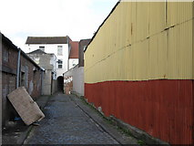 ST5871 : Alley off Still House Lane by Chris Heaton