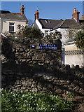 SX9265 : Footpath sign, St Marychurch by Derek Harper