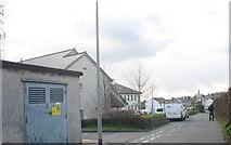 SH4862 : Gorsaf yr Heddlu Caernarfon Police Station by Eric Jones