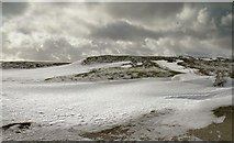 SE7294 : Snowdrifts at Chimney Bank by Colin Grice