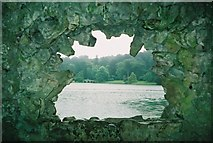 ST7733 : Inside The Grotto, Stourhead by Graham Horn
