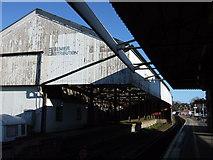 SX9193 : Warehouse at St David's by Derek Harper