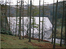 SK1789 : Derwent Dam Wall by Alan Heardman