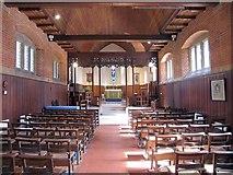 TL2518 : St Michael, Woolmer Green, Herts - East end by John Salmon