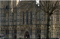 ST5545 : Wells cathedral by Patrick GUEULLE