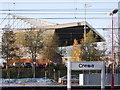 SJ7054 : Crewe Alexandra Football Club's main stand by Crewe blog