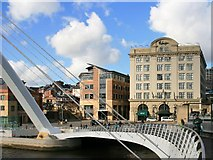 NZ2564 : Malmaison Hotel, Newcastle Quayside by Graeme Young