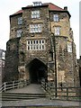 NZ2563 : The Black Gate, Newcastle upon Tyne by Graeme Young