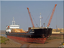"TA0623 : ""Amur-2504"" at Barrow Haven Wharf by David Wright"