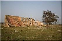 TF1468 : Tupholme Abbey ruins by Richard Croft