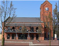 SK5803 : The Quay pub, Western Boulevard, Leicester. by Mat Fascione