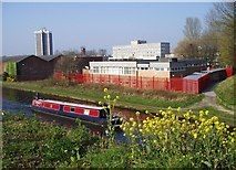 SJ7994 : Canal at Stretford by R Greenhalgh