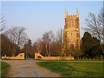 TL2549 : Parish church, Cockayne Hatley, Beds by Rodney Burton