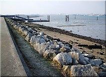 SU4208 : Hythe Marina Foreshore by Gillian Thomas