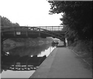 SK5803 : Mill Lane Bridge, Leicester Section, Grand Union Canal by Dr Neil Clifton
