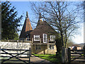 TQ7629 : The Old Oast, Stream Lane, Hawkhurst, Kent by Oast House Archive