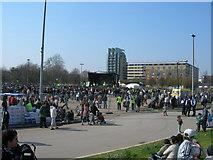 TQ3283 : Newroz Celebrations, Shoreditch Park by Danny P Robinson