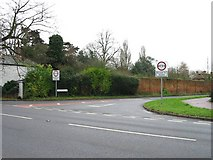 TR3256 : Junction of Felderland Lane and A258 by Nick Smith